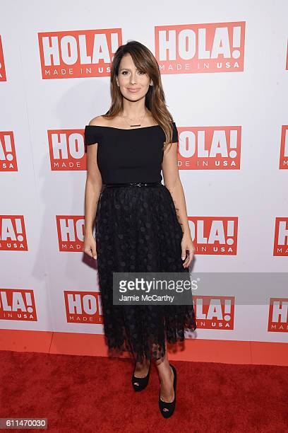Hilaria Baldwin attends the HOLA! USA launch hosted by Alec & Hilaria Baldwin at Porcelanosa on September 29, 2016 in New York City.