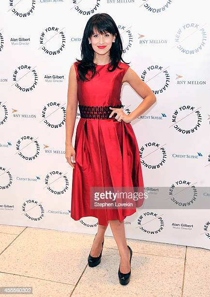 Hilaria Baldwin attends The New York Philharmonic's 173rd Opening Gala at Avery Fisher Hall at Lincoln Center for the Performing Arts on September 16...