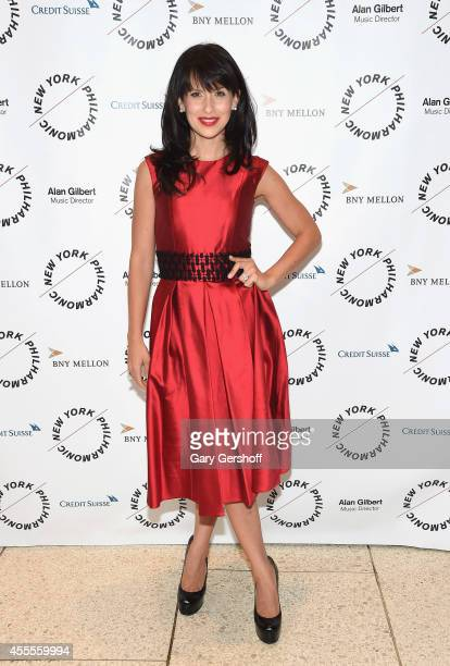 Hilaria Baldwin attends the New York Philharmonic's 173rd Season Opening Gala at Avery Fisher Hall at Lincoln Center for the Performing Arts on...