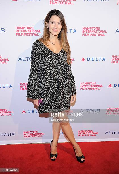 Hilaria Baldwin attends the Opening Night Film Screening of Loving during the Hamptons International Film Festival 2016 at Guild Hall on October 6...
