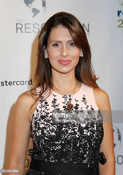 Hilaria Baldwin attends The Resolution Project's Resolve 2016 Gala at The Harvard Club of New York on October 13 2016 in New York City