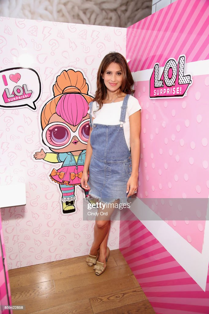 Hilaria Baldwin hosts the launch of the L.O.L. Surprise! Unboxing Video Booth and L.O.L. Surprise! Pets at Toys 'R' Us NYC on October 9, 2017 in New York City.