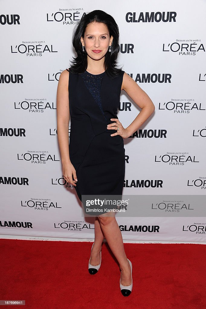 Hilaria Thomas attends Glamour's 23rd annual Women of the Year awards on November 11, 2013 in New York City.