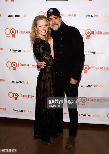 Hilarie Burton and Jeffrey Dean Morgan attend the Adrienne Shelly Foundation 10th Anniversary Gala at Angel Orensanz Foundation on December 5 2016 in...