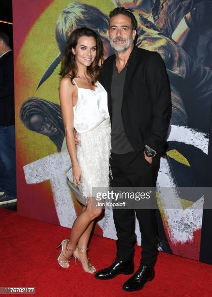 "Hilarie Burton and Jeffrey Dean Morgan attend the Special Screening Of AMC's ""The Walking Dead"" Season 10 at Chinese 6 Theater– Hollywood on..."