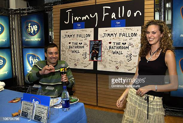 . Jimmy Fallon Celebrates The Release Of His Debut Cd Album The
