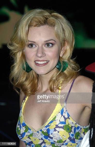 Hilarie Burton during 2004 MTV Video Music Awards Lil' Jon and Fat Joe Rehearsals Day 1 at American Airlines Arena in Miami Florida United States