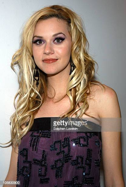 Hilarie Burton during MTV's New Years Eve 2003 at Times Square in New York City New York United States