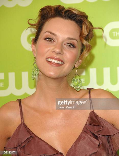 Hilarie Burton during The 2007 CW Network Upfront Arrivals at Madison Square Garden in New York City New York United States