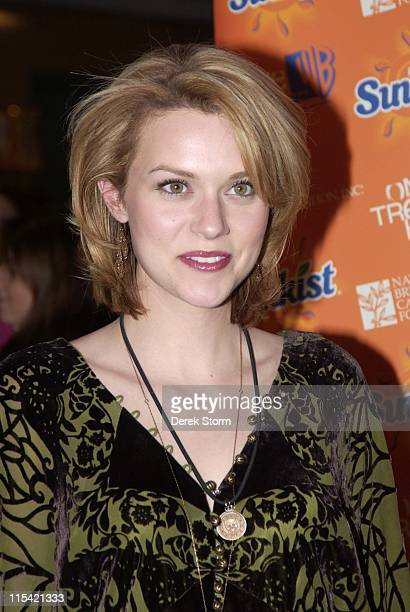 Hilarie Burton during The Cast of 'One Tree Hill' Appears at FYE in New York City February 7 2006 at FYE in New York City New York United States