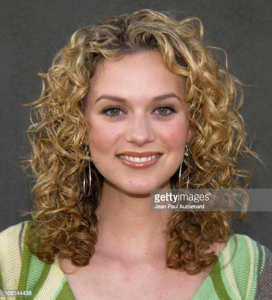 Hilarie Burton during The WB Network's 2003 All Star Party at White Lotus in Hollywood California United States
