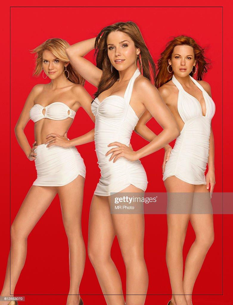 Hilarie Burton, Sophia Bush, and Daneel Harris.
