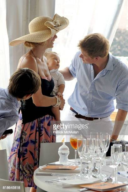 Hilario Figueras Delfina Blaquier Artemio Figueras and HRH Prince Harry of Wales attend 2010 VEUVE CLICQUOT Polo Classic at Governors Island on June...