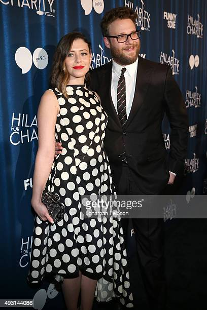 Hilarity for Charity cofounder Lauren Miller Rogen and Hilarity for Charity cofounder/event host Seth Rogen attend Hilarity for Charity's annual...