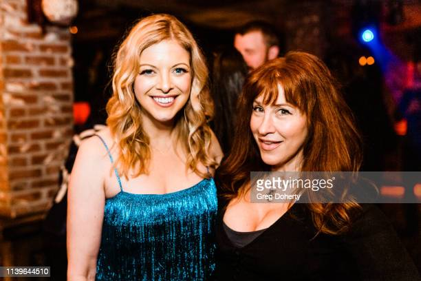 Hilary Barraford and Lisa Ann Walter attend Hilary Barraford's Birthday Party held at Madame Siam on April 26 2019 in Los Angeles California