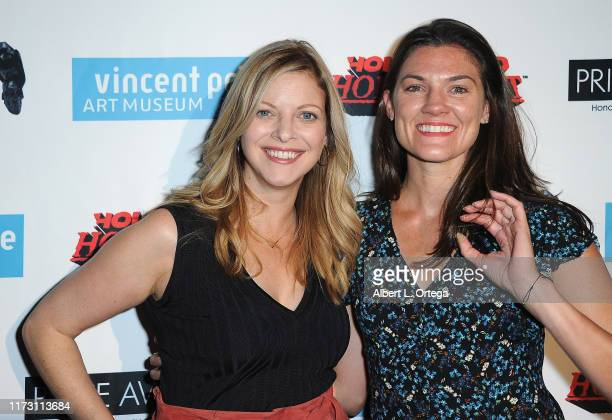 Hilary Barraford and Sarah Brown Carter attend the Premiere Of Exorcism At 60000 Feet as part of Hollywood Horrorfest held at Mayflower Club Inc on...