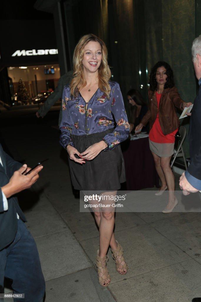 Celebrity Sightings In Los Angeles - December 08, 2017 : News Photo