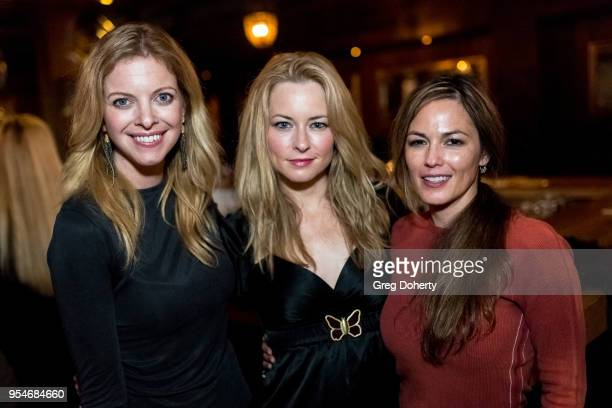 Hilary Barraford Jessica Morris and Terri Ivens attend the Gregori J Martin Birthday Party at Paloma on May 3 2018 in Los Angeles California