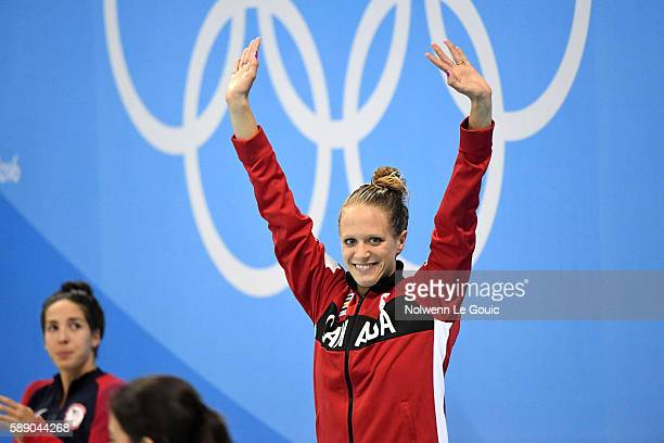 Hilary Caldwell bronze medal of the 200m backstroke during Swimming on Olympic Games 2016 in Rio at Olympic Aquatics Stadium on August 12 2016 in Rio...