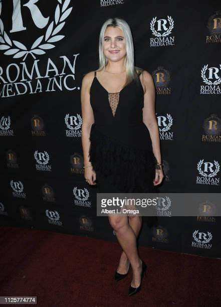 Hilary Dahlquist arrives for Roman Media's 5th Annual Hollywood Event A Celebration of Women and Diversity in Film held at St Felix on February 18...