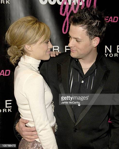 Hilary Duff and Joel Madden during CosmoGIRL Magazine Celebrates Annual Born to Lead Awards at The Altman Building in New York City New York United...