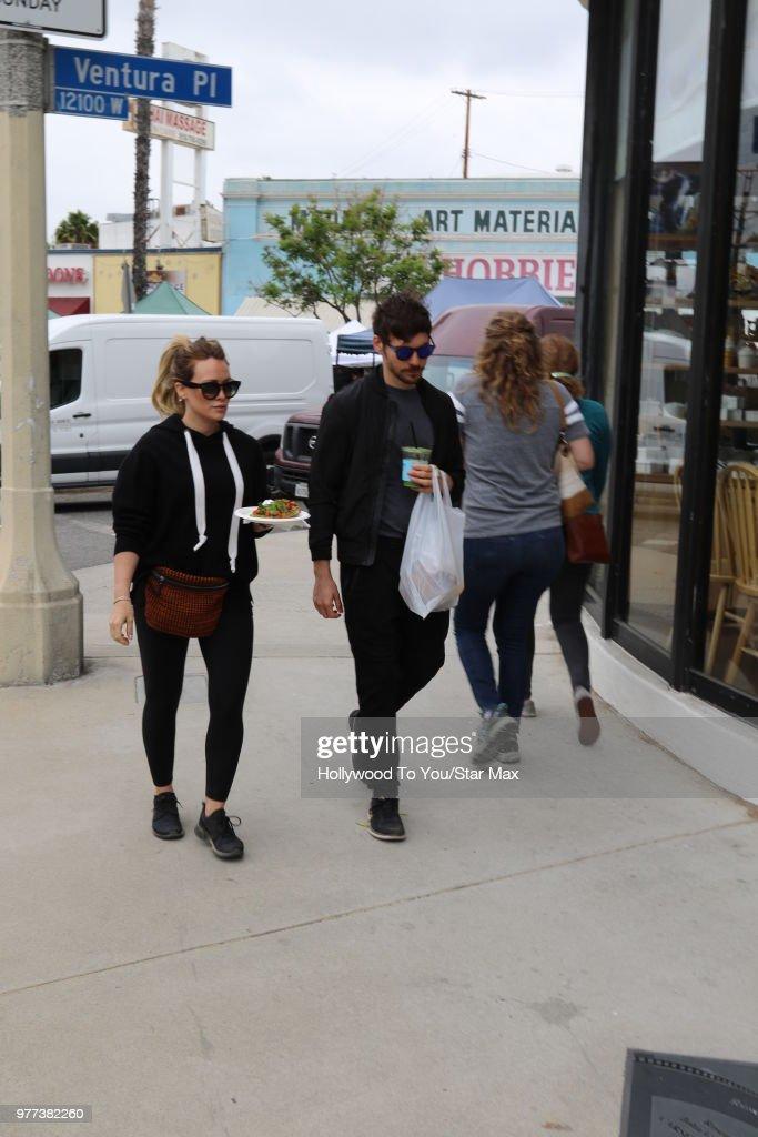 Celebrity Sightings In Los Angeles - June 17, 2018