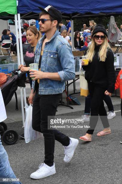 Hilary Duff and Matthew Koma are seen on June 22 2018 in Los Angeles California