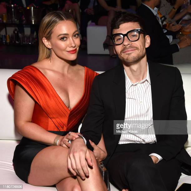 Hilary Duff and Matthew Koma attend the 5th Adopt Together Baby Ball Gala on October 12 2019 in Los Angeles California