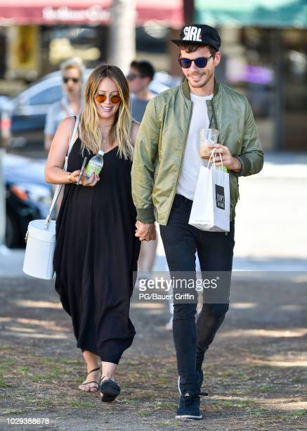 Hilary Duff and Matthew Koma seen on September 08 2018 in Los Angeles California