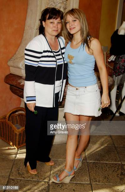 Hilary Duff and mother Susan Duff