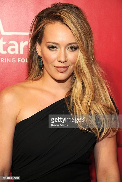 Hilary Duff attends 2014 MusiCares Person Of The Year Honoring Carole King at Los Angeles Convention Center on January 24 2014 in Los Angeles...