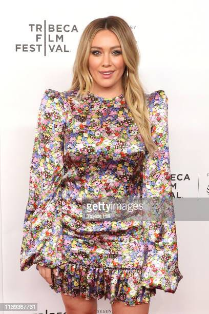 Hilary Duff attends a screening of Tribeca TV Younger at Spring Studios on April 25 2019 in New York City