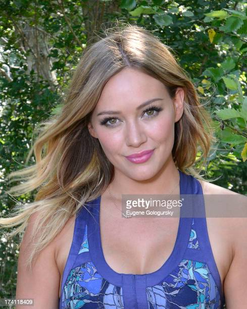 Hilary Duff attends FIJI Water Days Of Summer Hosted By Hilary Duff at EMM Group's The Estate on July 20, 2013 in Sag Harbor, New York.