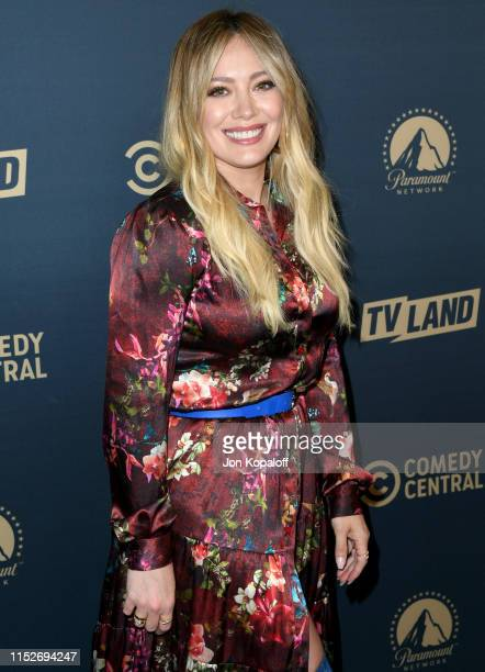 Hilary Duff attends LA Press Day for Comedy Central, Paramount Network, and TV Land at The London West Hollywood on May 30, 2019 in West Hollywood,...