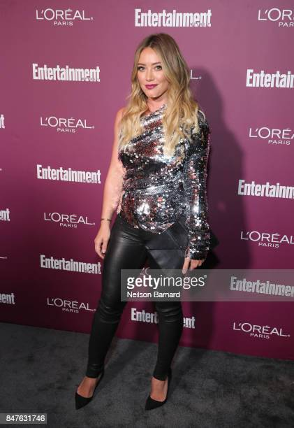 Hilary Duff attends the 2017 Entertainment Weekly PreEmmy Party at Sunset Tower on September 15 2017 in West Hollywood California