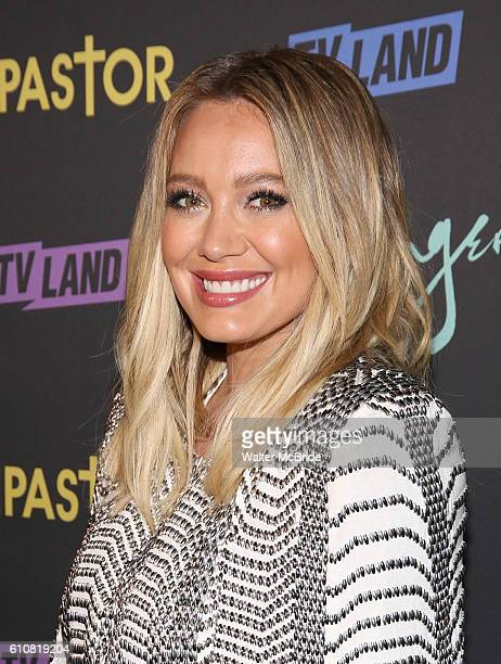 Hilary Duff attends the 'Younger' Season 3 & 'Impastor' Season 2 New York Premiere at Vandal on September 27, 2016 in New York City.