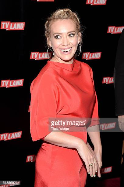 Hilary Duff attends Viacom Kids And Family Group Upfront Event at Frederick P Rose Hall Jazz at Lincoln Center on March 3 2016 in New York City