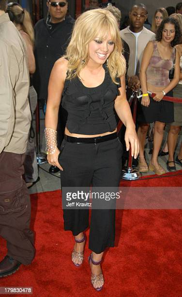 Hilary Duff during 2003 MTV Video Music Awards Arrivals at Radio City Music Hall in New York City New York United States