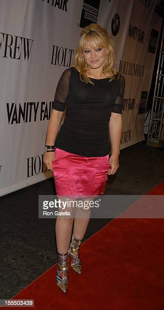 Hilary Duff during 2003 Toronto International Film Festival Holt Renfew and Vanity Fair Present Flick Party at Holt Renfew in Toronto Ontario Canada