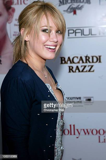 Hilary Duff during 2004 Movieline Young Hollywood Awards - Red Carpet Sponsored by Hollywood Life at Avalon Hollywood in Hollywood, California,...