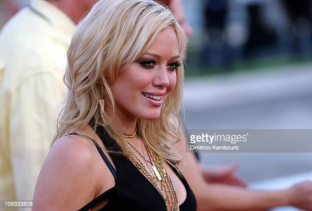 Hilary Duff during 2004 MTV Video Music Awards Arrivals at American Airlines Arena in Miami Florida United States