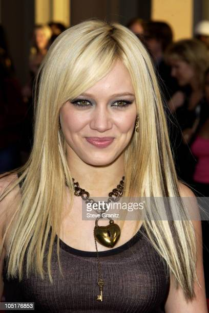 Hilary Duff during 31st Annual American Music Awards Arrivals at Shrine Auditorium in Los Angeles California United States