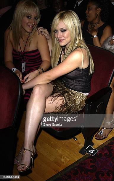 Hilary Duff during 31st Annual American Music Awards Audience and Backstage at The Shrine Theater in Los Angeles California United States