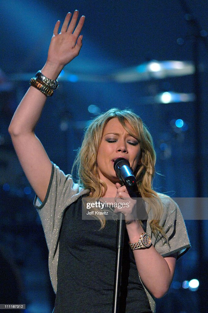 Hilary Duff during