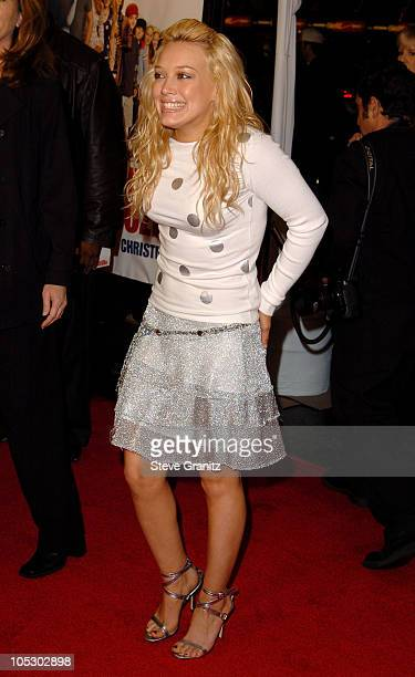 Hilary Duff during Cheaper By The Dozen Los Angeles Premiere at Grauman's Chinese Theatre in Hollywood California United States