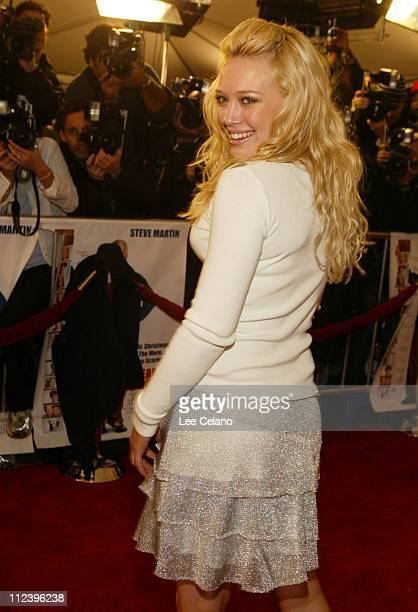 Hilary Duff during 'Cheaper by the Dozen' Los Angeles Premiere Red Carpet at Mann's Grauman's Chinese Theatre in Hollywood California United States
