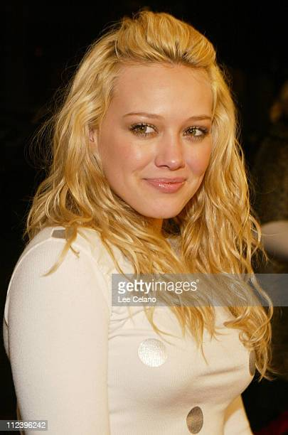 Hilary Duff during Cheaper by the Dozen Los Angeles Premiere Red Carpet at Mann's Grauman's Chinese Theatre in Hollywood California United States