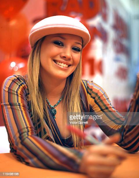 Hilary Duff during Hilary Duff InStore Appearance at Zutopia at Zutopia South Coast Plaza in Irvine California United States