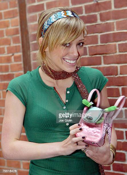 Hilary Duff during Hilary Duff Visits Toy Maker Hasbro's Global Headquarters July 25 2005 at the Hasbro Global Headquarters in Pawtucket Rhode Island