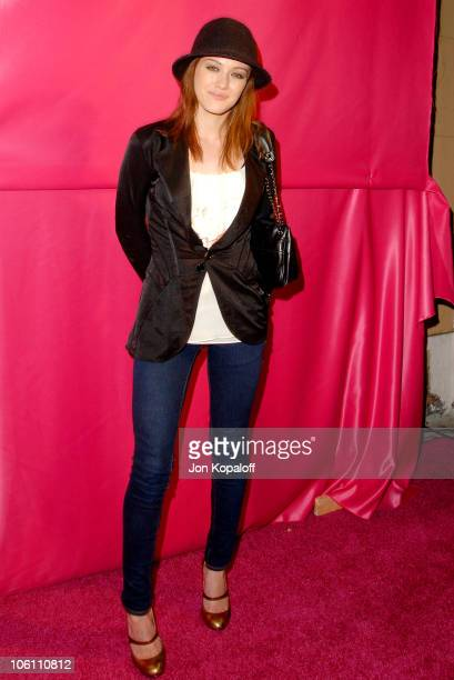 """Hilary Duff during Joanna Schlip Launches J-Girls Fund and Her Book """"Glamour Girlz"""" at The Gershwin in Hollywood, California, United States."""